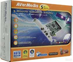 TV-тюнер (гибридный) AVerMedia AverTV Satellite Trinity PCI-E