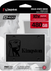 SSD накопитель 480Gb SSD Kingston SA400S37/480G