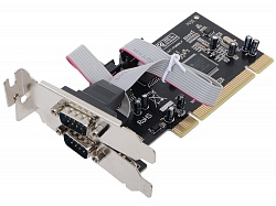 PCI - 2xCOM контроллер MCS9835CV ST-LAB (low profile)