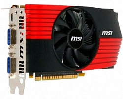 Видеокарта MSI N450GTS-M2D1GD5/0C 1Gb (б/у)